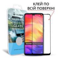Защитное стекло MakeFuture для Xiaomi Redmi Note 7 полноэкранное черное